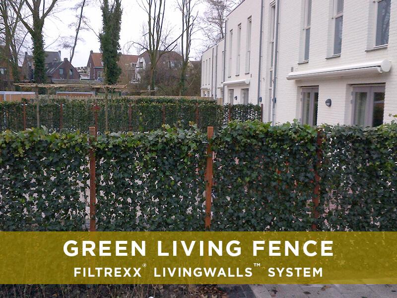 Filtrexx Green Living Fences Filtrexx Livingwalls Solutions