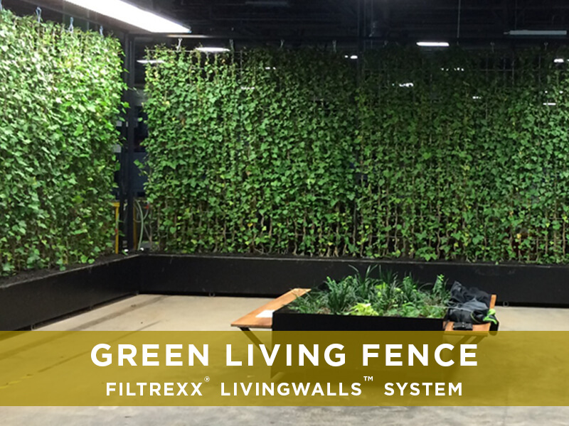 Filtrexx Green Living Fences Filtrexx Livingwalls Solutions