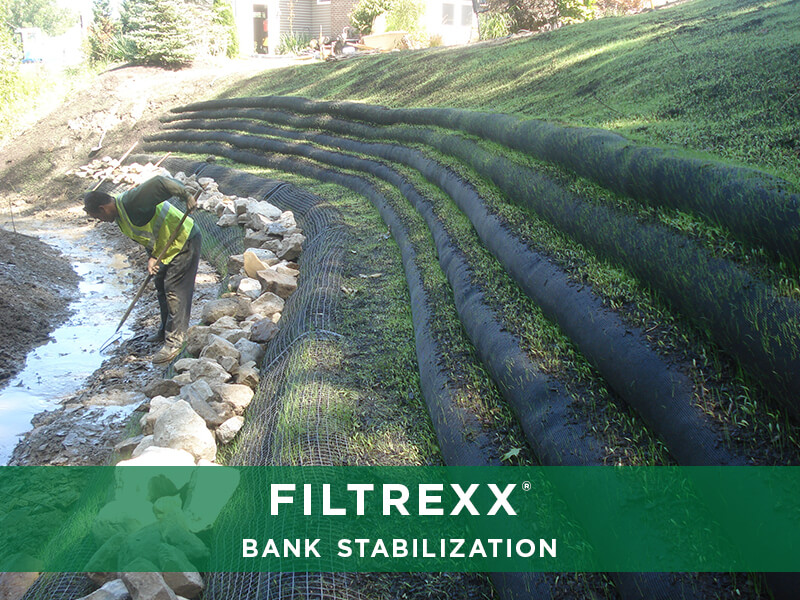 Filtrexx Bank Stabilization Solutions Reliable