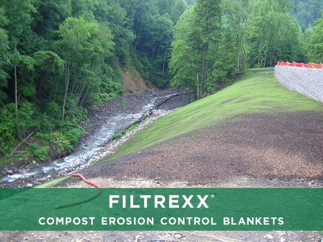 Filtrexx Compost Erosion Control Blanket