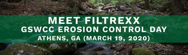 Filtrexx attends 2020 GSWCC Erosion Control Day