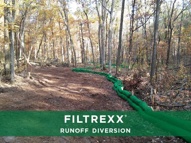 Filtrexx SiltSoxx Runoff Diversion