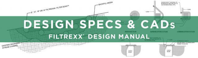 Filtrexx Design Specs & CADs