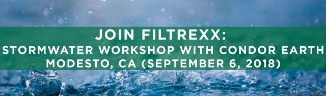 Filtrexx Attends 2018 Stormwater Workshop with Condor Earth