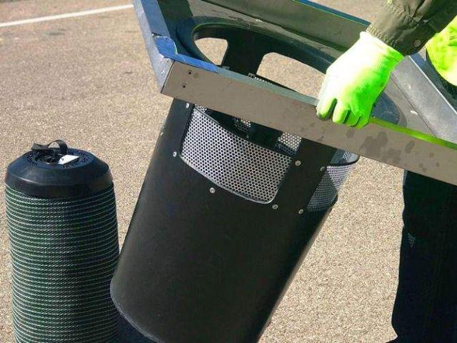 Filtrexx   StormExx Trash Capture Catch Basin Filter