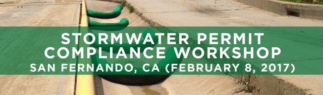 SEMINARS Stormwater Permit Compliance San Fernando CA