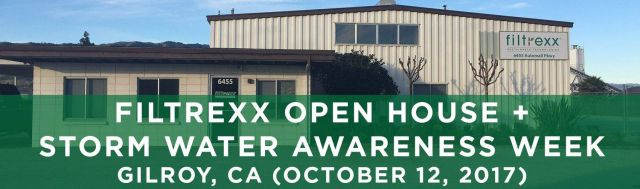 Filtrexx Open House & Storm Water Awareness Week Workshops Gilroy CA
