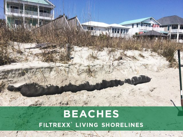 Filtrexx Beaches Living Shorelines