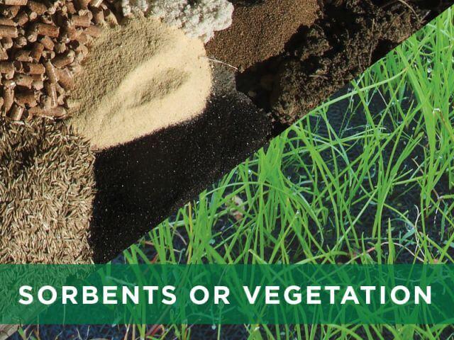 Filtrexx Technology Sorbents or Vegetation