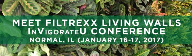 Filtrexx LivingWalls attend 2017 InVigorateU Conference