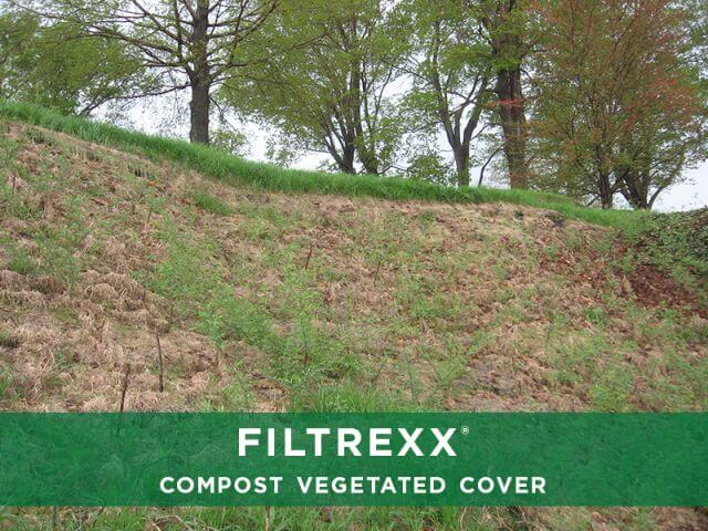 Filtrexx Compost Vegetated Cover