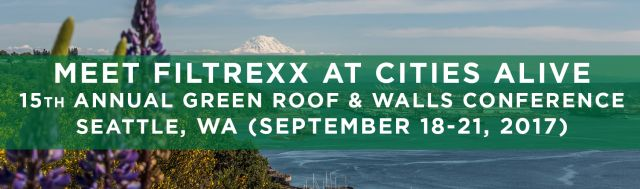 Filtrexx LivingWalls attend 2017 Cities Alive Conference