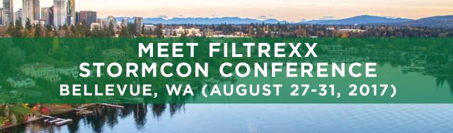 Filtrexx exhibits at 2017 StormCon in Bellevue, WA