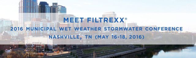 Filtrexx Municipal Wet Weather Stormwater Conference 2016