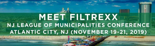 Filtrexx exhibits at 2019 NJLM Conference in Atlantic City, NJ
