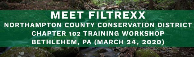 Filtrexx attends 2020 Northampton County Conservation District Workshop
