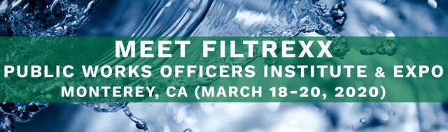 Filtrexx attends Public Works Officers Institute & Expo