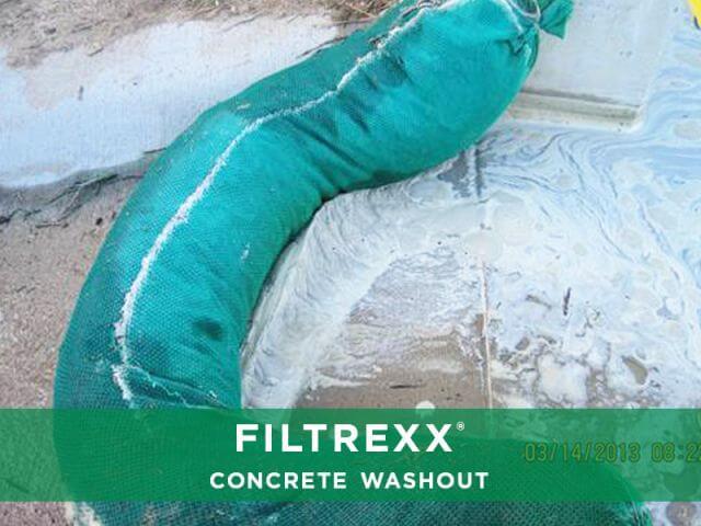 Filtrexx Concrete Washout