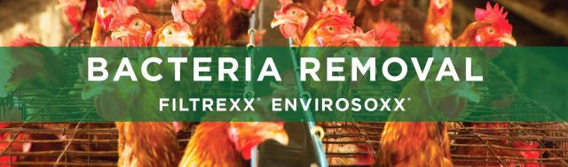 Filtrexx EnviroSoxx Bacteria Removal