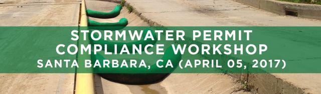 SEMINARS Stormwater Permit Compliance Santa Barbara CA