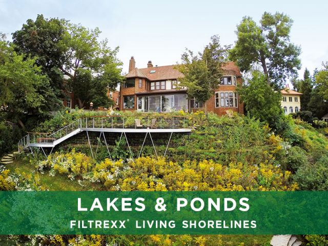 Filtrexx Lakes & Ponds Living Shorelines