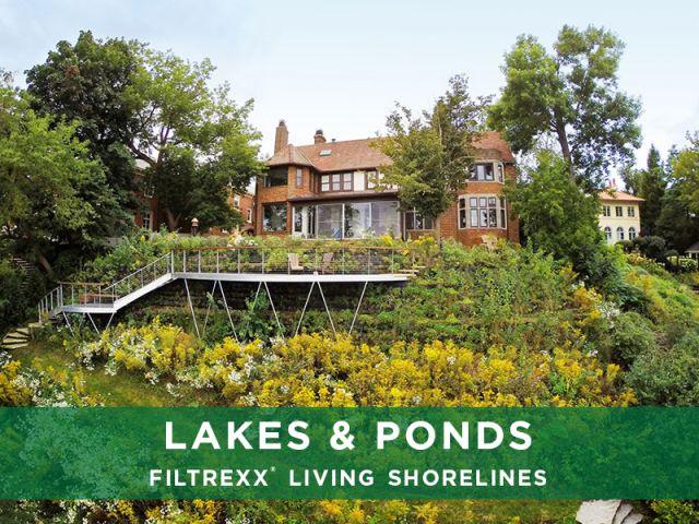 Filtrexx Lakes & Ponds Living Shorelines