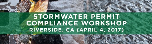 SEMINARS TRWE Stormwater Compliance Riverside CA