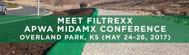 Filtrexx attends 2017 APWA MidAmX Conference