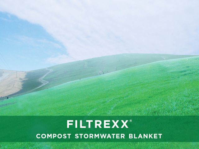 Filtrexx Compost Stormwater Blanket