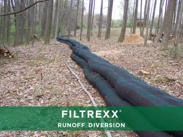 Filtrexx Runoff Diversion