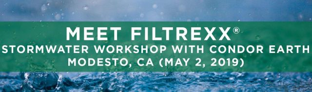 Filtrexx Attends 2019 Stormwater Workshop with Condor Earth
