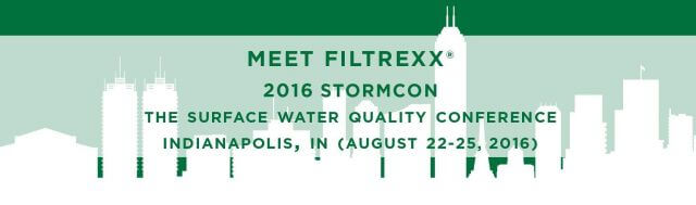 Filtrexx exhibits at 2016 StormCon in Indianapolis, IN