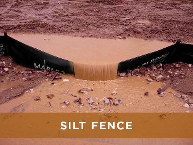 BMP Comparison Silt Fence