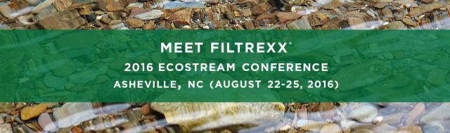 Filtrexx EcoStream Conference 2016