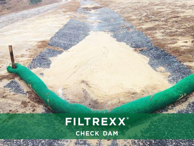 Filtrexx Check Dam