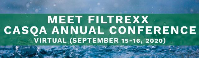 Filtrexx exhibits at 2020 CASQA Virtual Conference