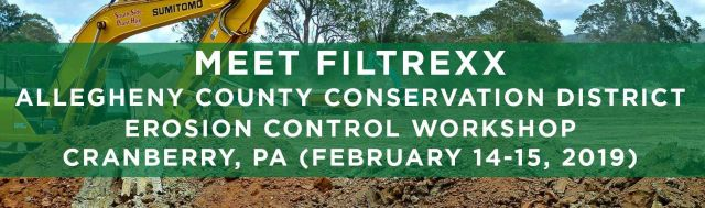 Filtrexx attends 2019 Allegheny Conservation District Erosion Control Workshop