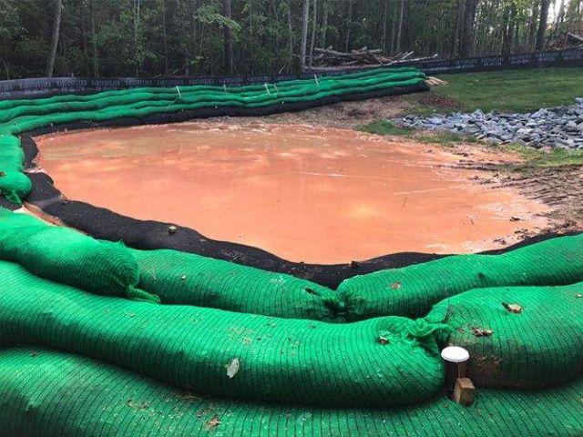 Filtrexx Sediment Trap