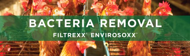 Filtrexx Bacteria Removal