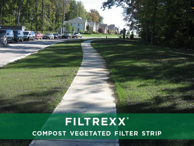 Filtrexx Compost Vegetated Filter Strip