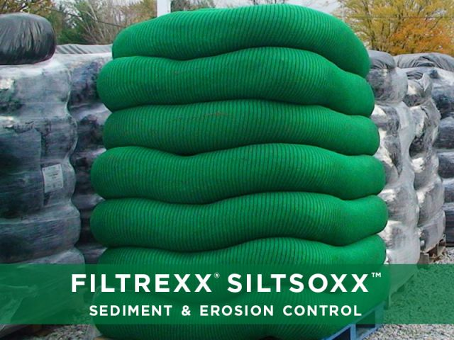Filtrexx Products Stormwater Management Sediment