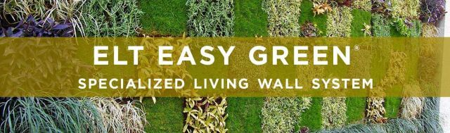 ELT Easy Green Living Wall System
