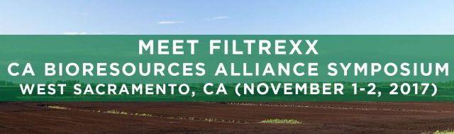 Filtrexx attends 2017 California Bioresources Alliance Symposium