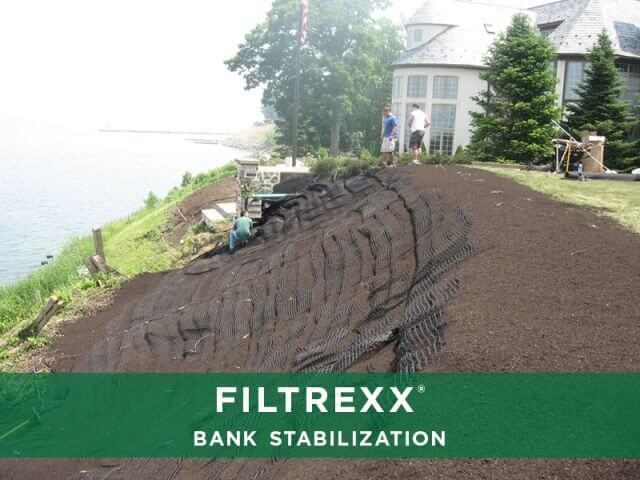 Filtrexx stormwater management applications explore for Design of stabilisation pond
