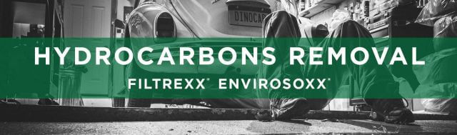Filtrexx EnviroSoxx Hydrocarbons Removal