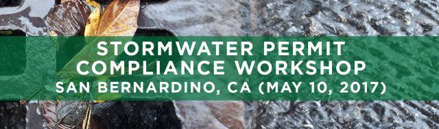 SEMINARS TRWE Stormwater Compliance San Bernardino CA