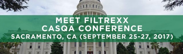 Filtrexx exhibits at 2017 CASQA Conference in Sacramento, CA
