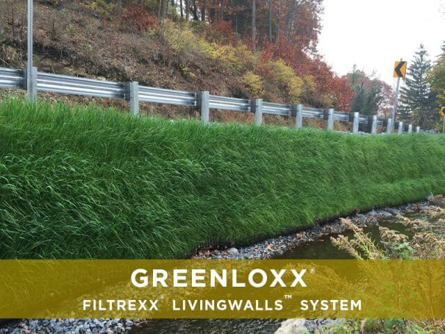 Filtrexx Retaining Living Walls