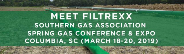 Filtrexx attends 2019 Southern Gas Association Spring Gas Conference & Expo