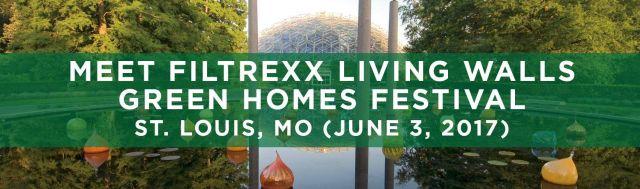 Filtrexx LivingWalls attend 2017 Green Homes Festival